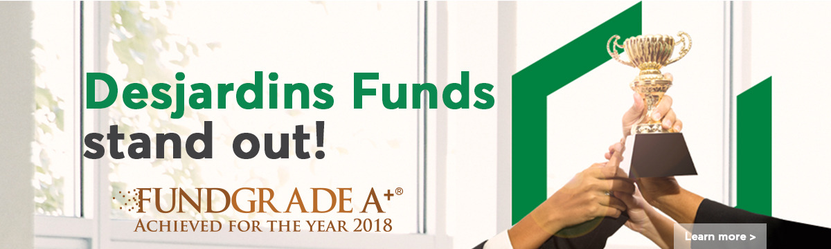 Learn more about Desjardins Funds stand out, Fundgrade A. Achived for the year 2018.